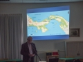 Frank van Manen tijdens zijn lezing over verbreding Panamakanaal1
