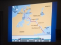 De kaart van het kanaal