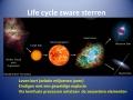 Life cycle zware sterren